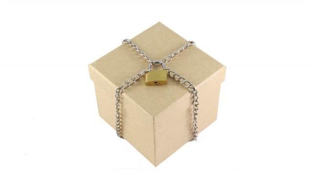 鍵のかかった箱